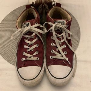 Converse CTAS Men's Dark Sangria 157533F Sneakers